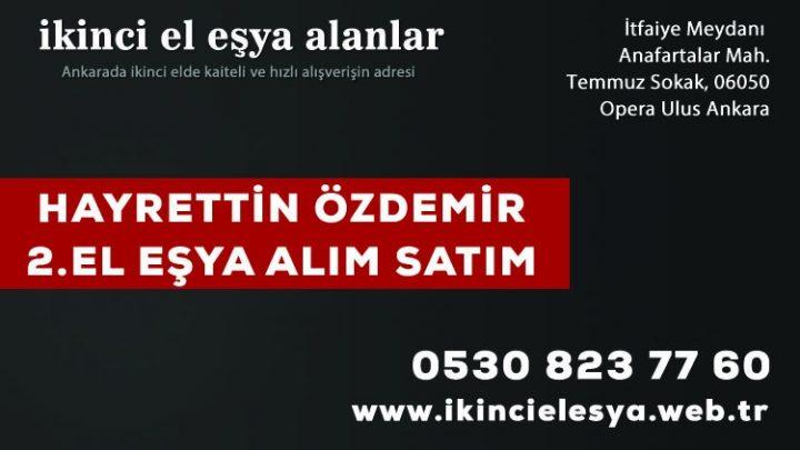 Ankara İkinci El Mobilya Alım