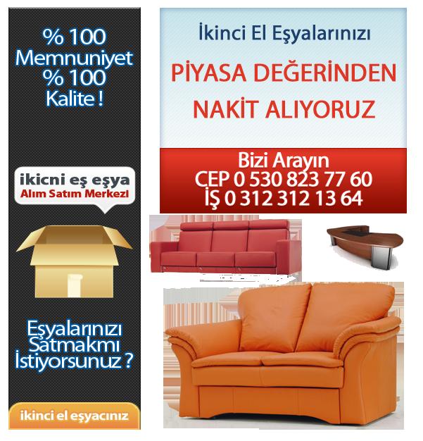 Ankarada Kullanılmış Eşya Alanlar